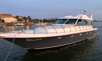 Charter a 54' Motor Yacht in Cabo Frio, Brazil for up to 20 People