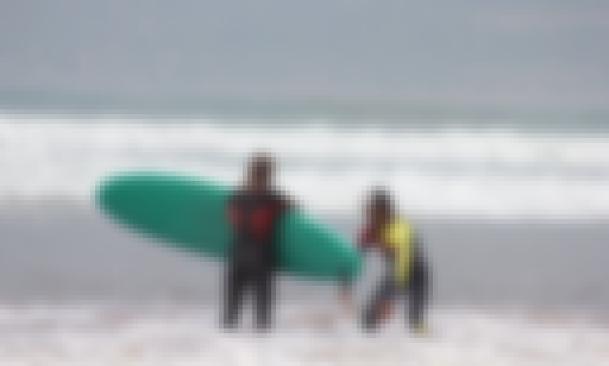 Surf and Yoga Vacation with Moroccan and German Surfer Souls in Taghazout, Morocco