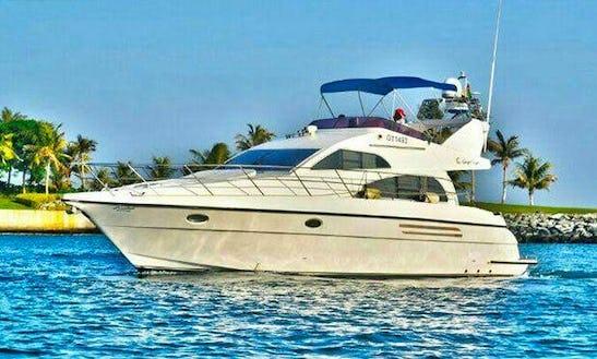 45ft Gulf Craft Luxury Motor Yacht Renta In Dubai, Uae For 10 Person
