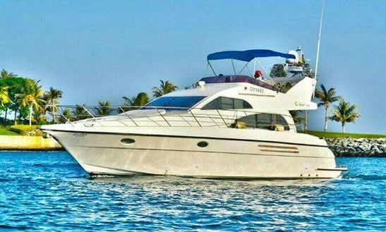 45ft Gulf Craft Luxury Motor Yacht Renta In Dubai, Uae For 10 Person