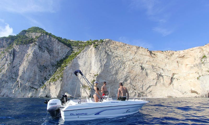 Reserve An Amazing Speed Boat in Zakynthos, Greece