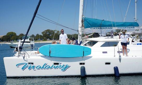 Enjoy Sailing On This Beautiful Catamaran In San Diego, California
