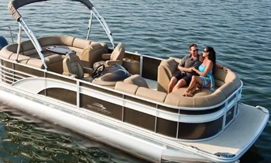 Cruise With The 24' Bentley Pontoon For 12 People In Vero Beach, Fl