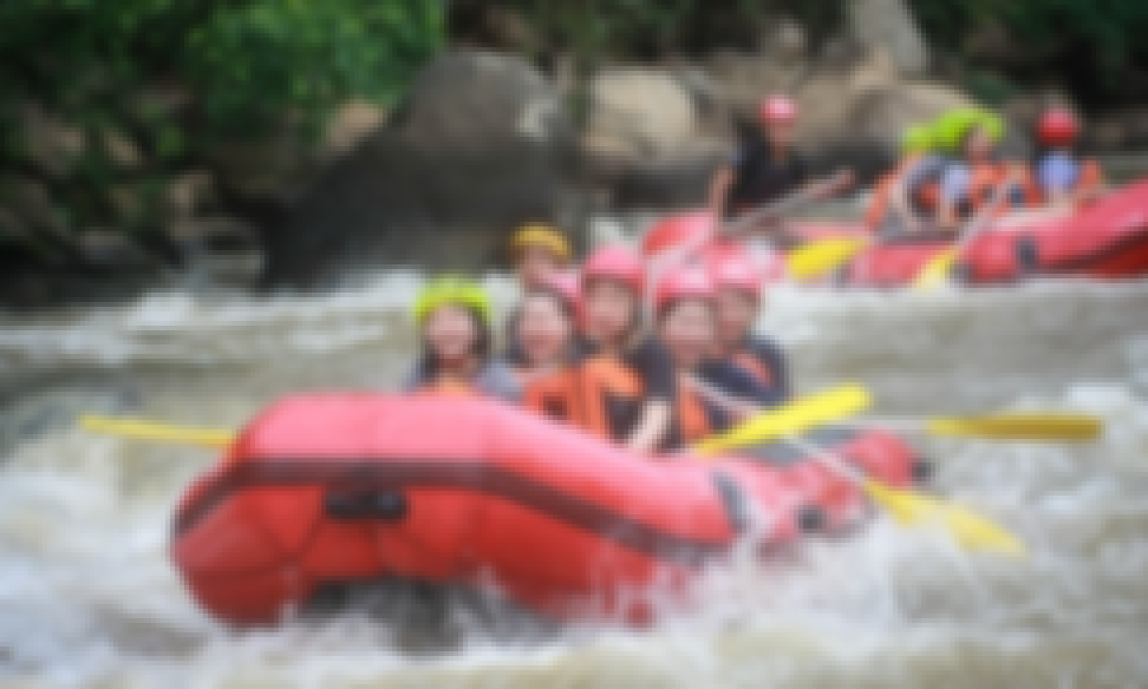 White Water Rafting in Chiang Mai at Mae Taeng