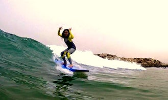 Learn to Surf Safely with an Experienced Local Surf Guides in Taghazout, Morocco