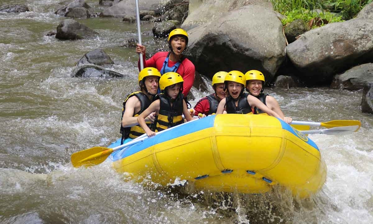 Guided Ayung River Rafting In Ubud Indonesia Getmyboat