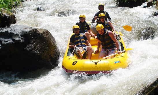 Book A White Water Rafting In Telaga Waja River