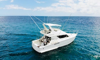 38' D'Unienville Craft Flybridge Yacht  forBig Game Fishing Charter in Albion