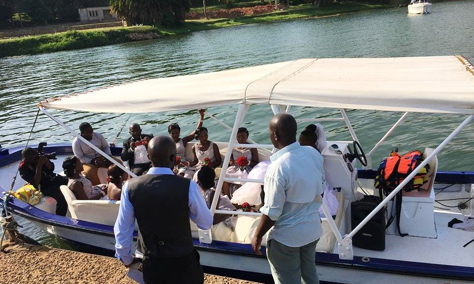 Explore Lake Victoria! Book a 16 person Boat!