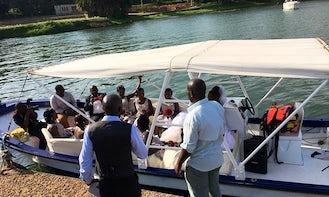 Explore Lake Victoria! Book a 16 person Boat!