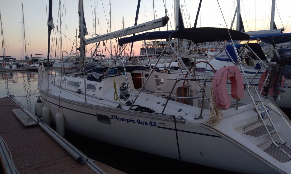 Sail around Kavala, Greece on this cruising monohull rental