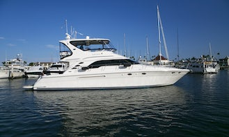 Gorgeous 56' Sea Ray Motor Yacht for 12 person in San Diego Bay