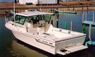 30' BAHA Sportfisherman Charter Boat located at Lakeside Marblehead, OH