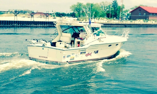 Charter Fishing In Manistee