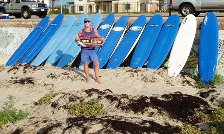Learn to Surf In Galveston