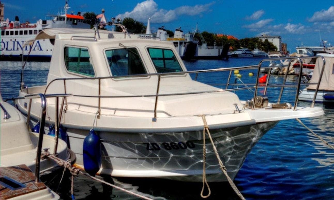 fishing charter boat in Croatia