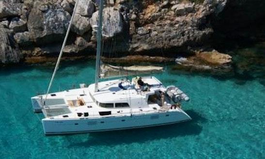 Cruising Catamaran Rental In Samos