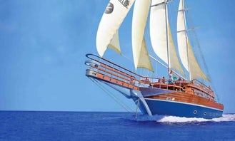 Exciting Pirate Boat Trip to Tiran Island in Sharm el sheikh, Egypt