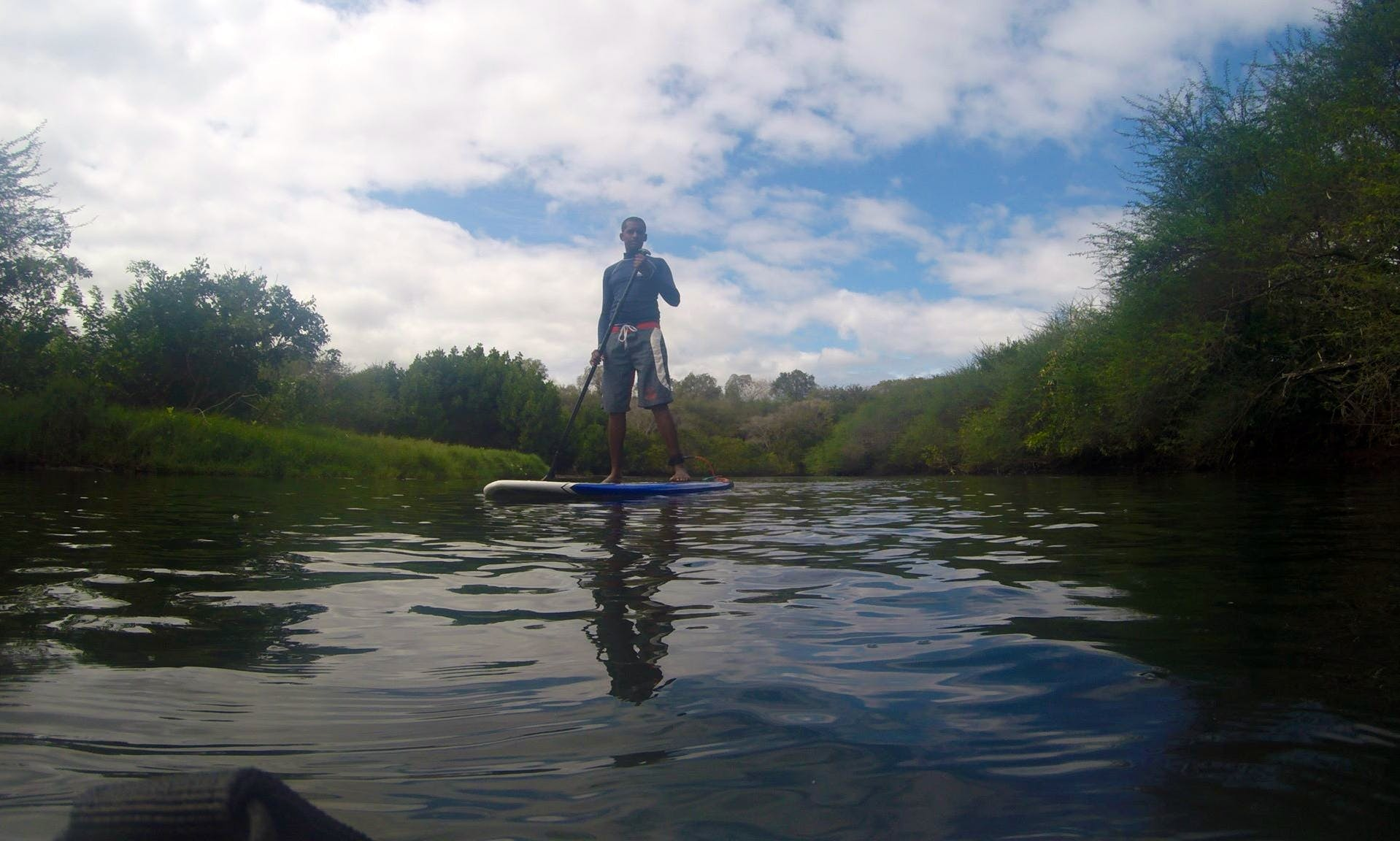 Stand Up Paddleboarding for 3 Hours all around Mauritius