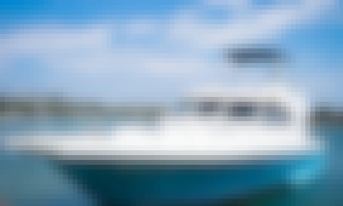 Book a Beautiful Consquista Motor Yacht in Rio de Janeiro, Brazil