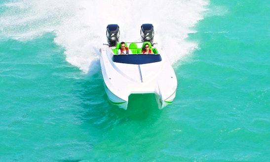 Power Catamaran In Key West