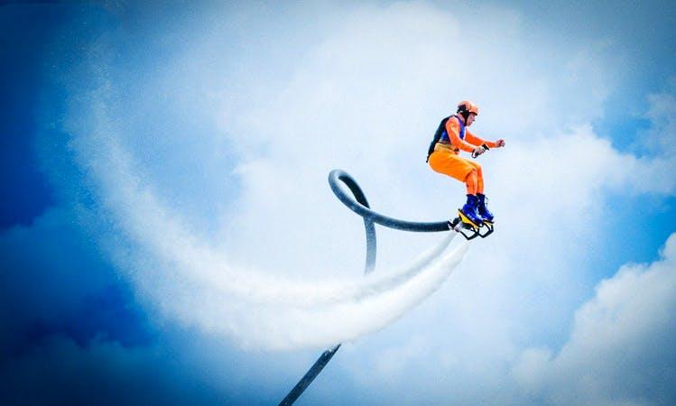 Flyboarding in Fort Lauderdale, Florida