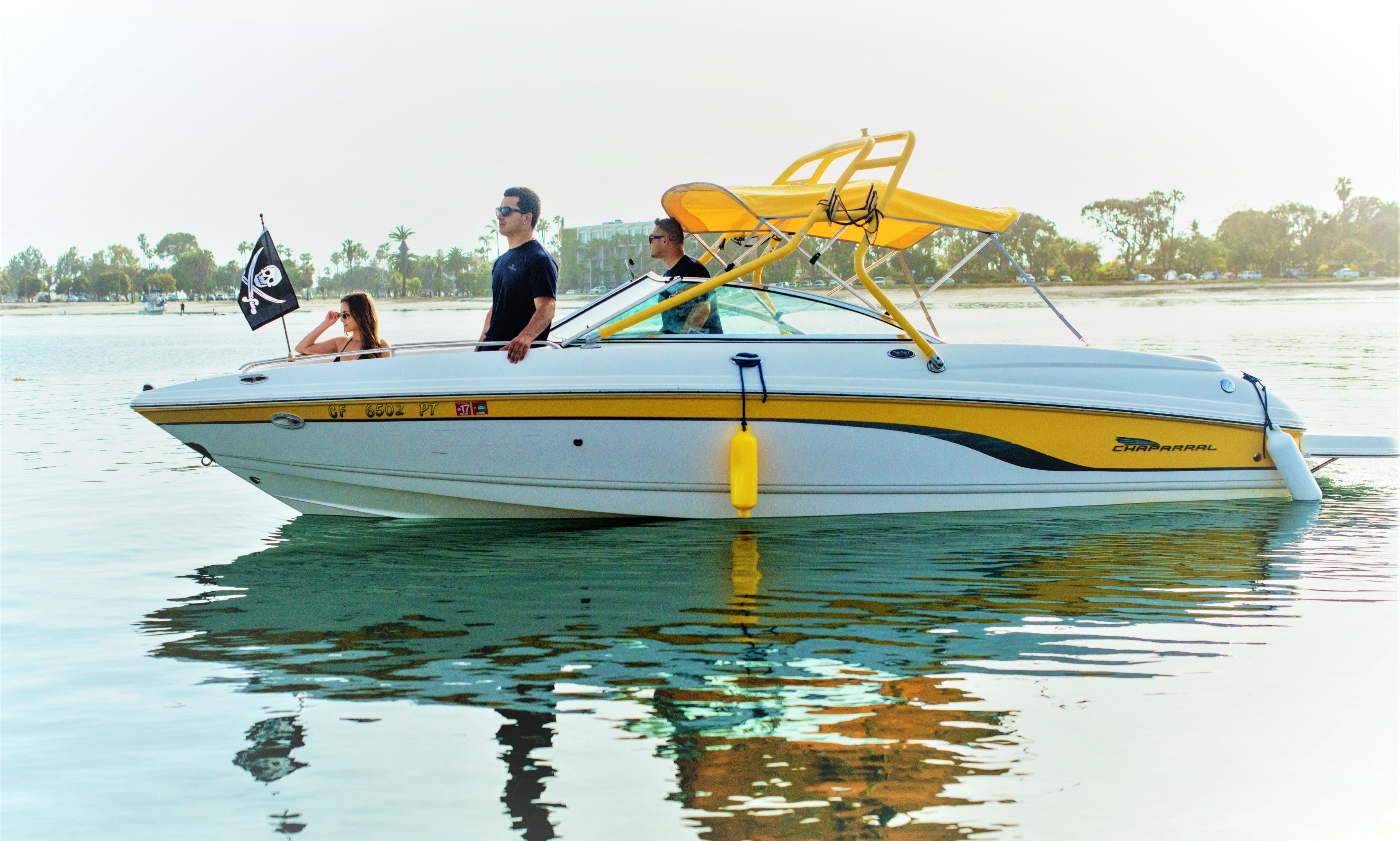 FAST FUN Bowrider + Wakeboard & Tubes Rental Ready