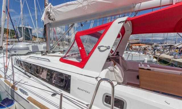 "Sailing Holiday In Croatian Sea Aboard 2018 Beneteau Oceanis 38.1 Sailboat ""Mare Nostrum"""