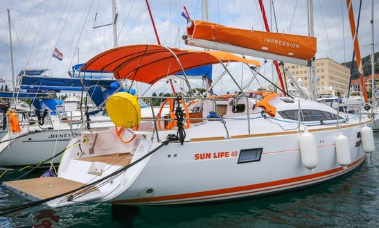 Sail The 1000+ Islands In Croatia Onboard The Elan 40 Impression