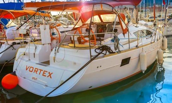 Venture The Croatian Sea Aboard The Elan 444 Impression