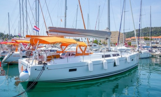 Luxurious Yacht Adventure Onboard The Hanse 455 Cruising Monohull In Split, Croatia