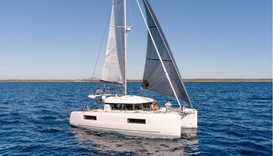 Lagoon 40 Cruising Catamaran For 12 People In Split, Croatia