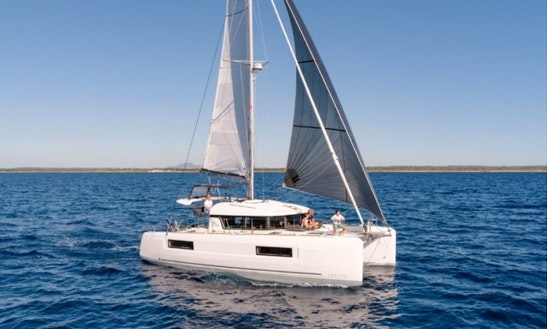 Brandnew Lagoon 40 Cruising Catamaran For 12 People In Split, Croatia