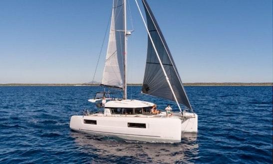Brandnew Lagoon 40 Cruising Catamaran For 12 People In Split, Croatia