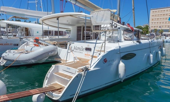 Memorable Sailing Holiday In Croatian Sea With Orana 44 Cruising Catamaran