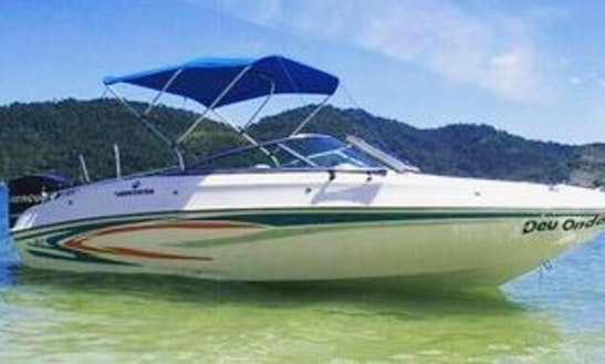19' Lancha Power Boat To Cruise Paraty Bay In Rio De Janeiro, Brazil