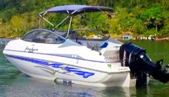 Foker Motor Boat For 7 Person To Explore Paraty Bay And Angra Do Reis