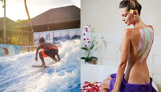 Wave Rider Challenge And Spa Package In Bali, Indonesia