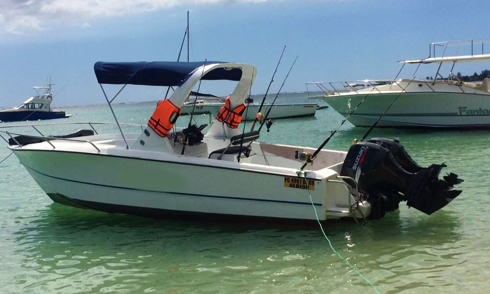 Fishing Trips for 5 People with Captain and Crew on the Black River in Mauritius