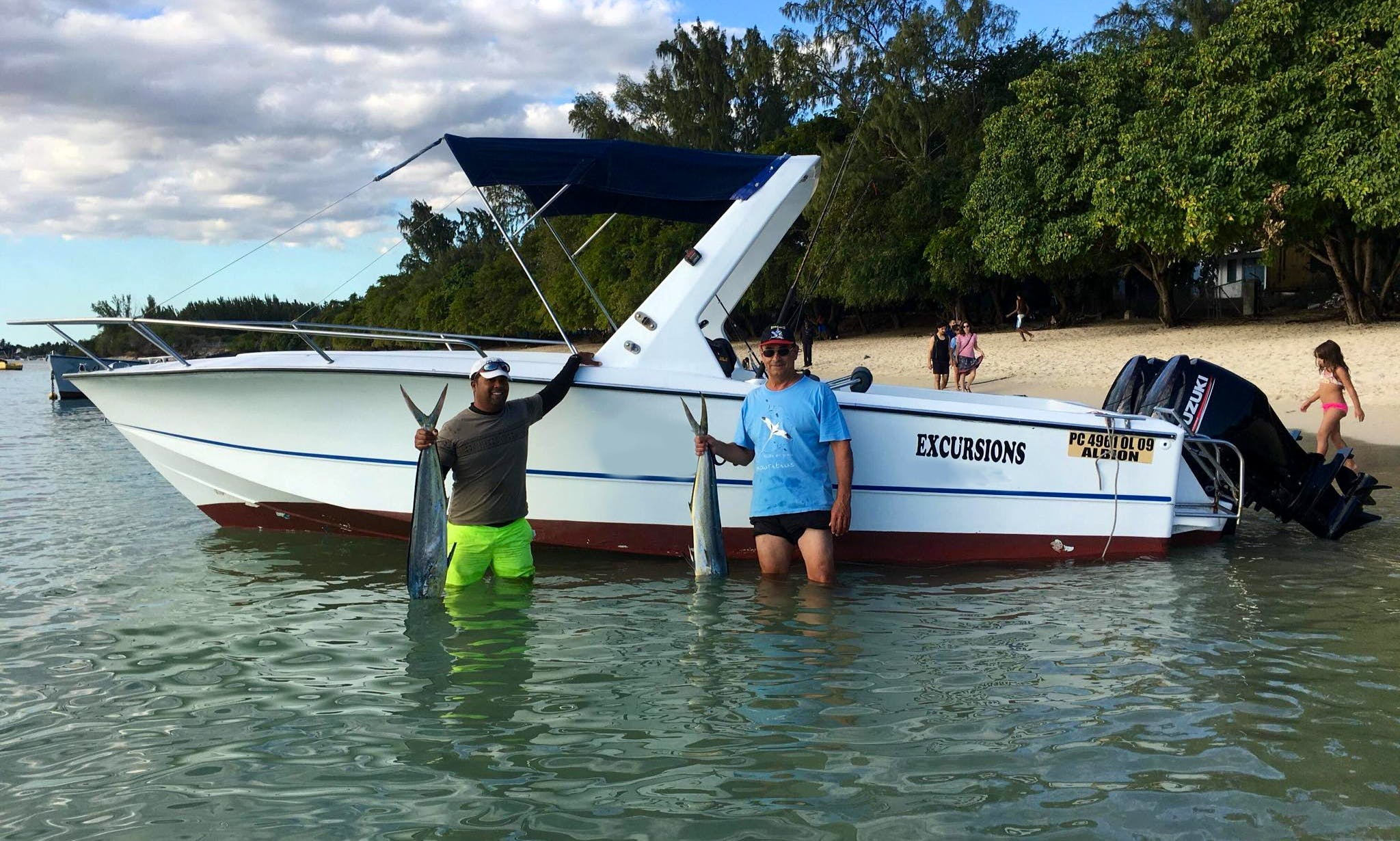 Big Game Fishing Adventure for 8 People in Mauritius' Black River