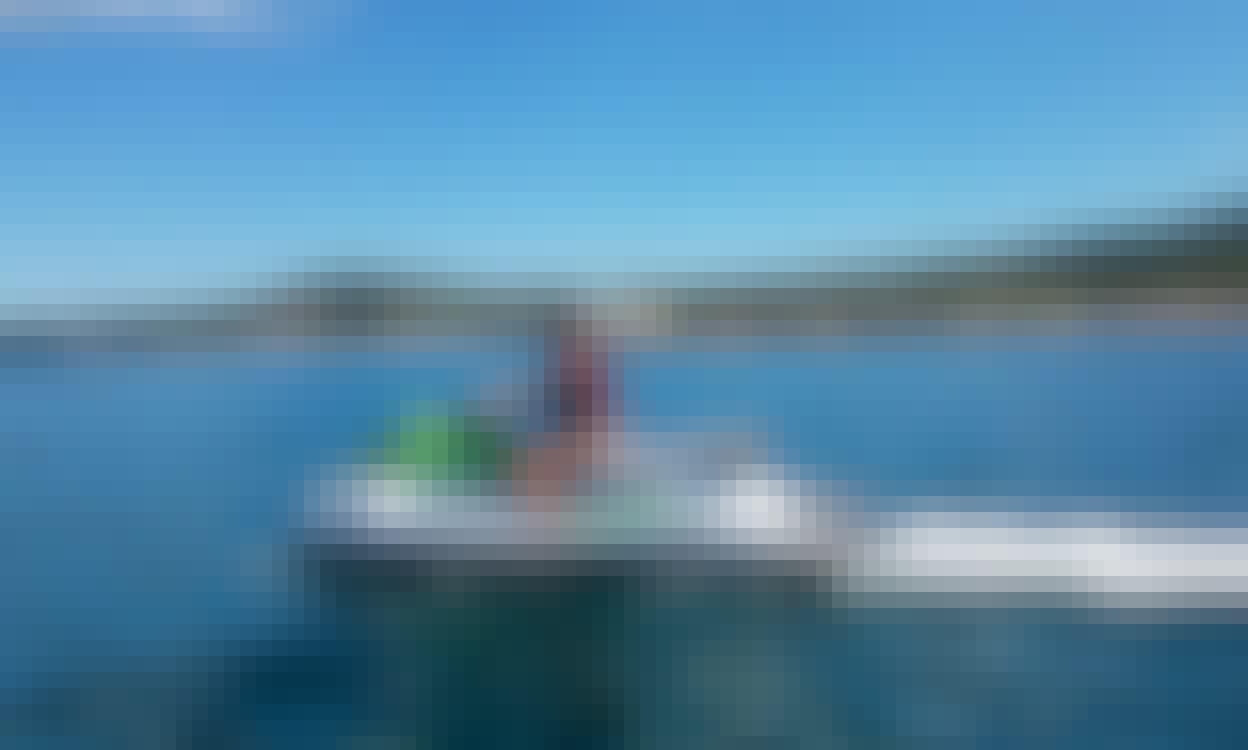 Jet Ski Snorkel Adventure from Reggae Beach to Shitten Bay