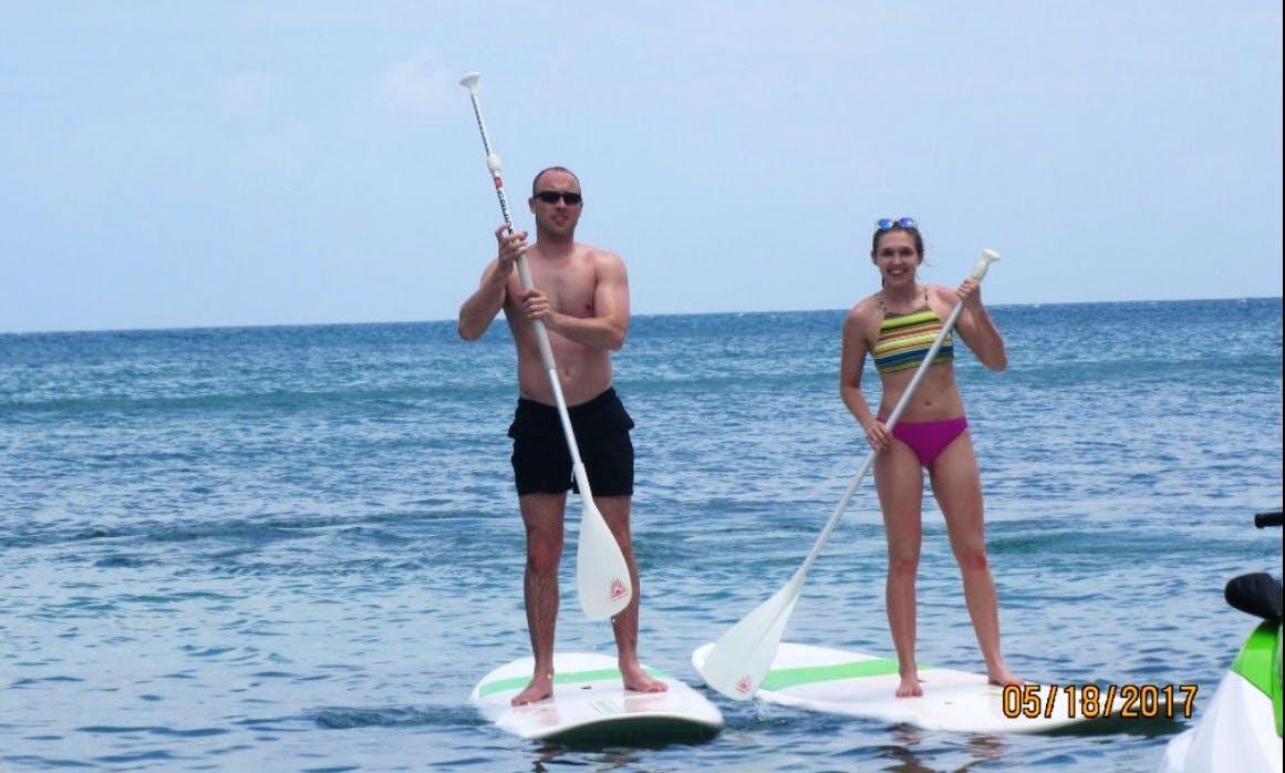 Guided Stand Up Paddleboard Tour in Cockleshell Bay