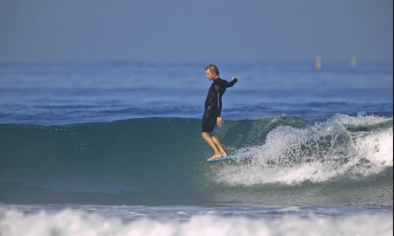 Surf Lessons with Experienced Coach at Sandy Bank Bay