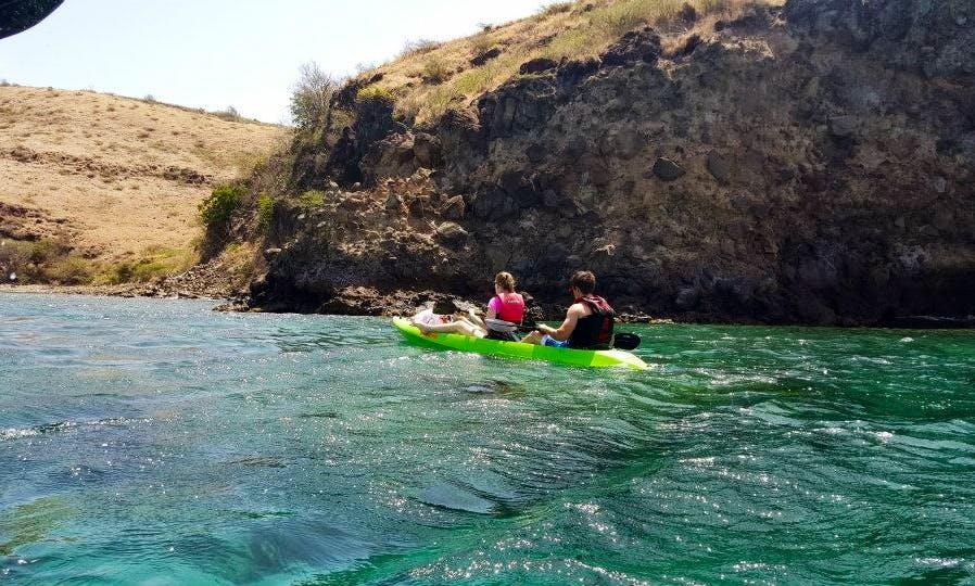 Glass Bottom Kayak Adventure in Saint Kitts and Nevis