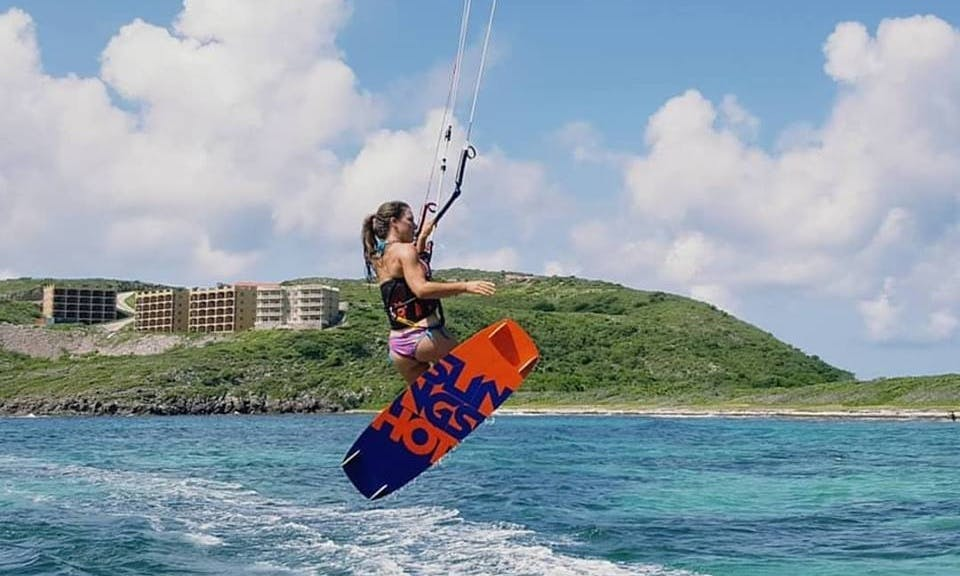Kiteboarding Lesson with IKO Certified Instructor in Saint Kitts and Nevis