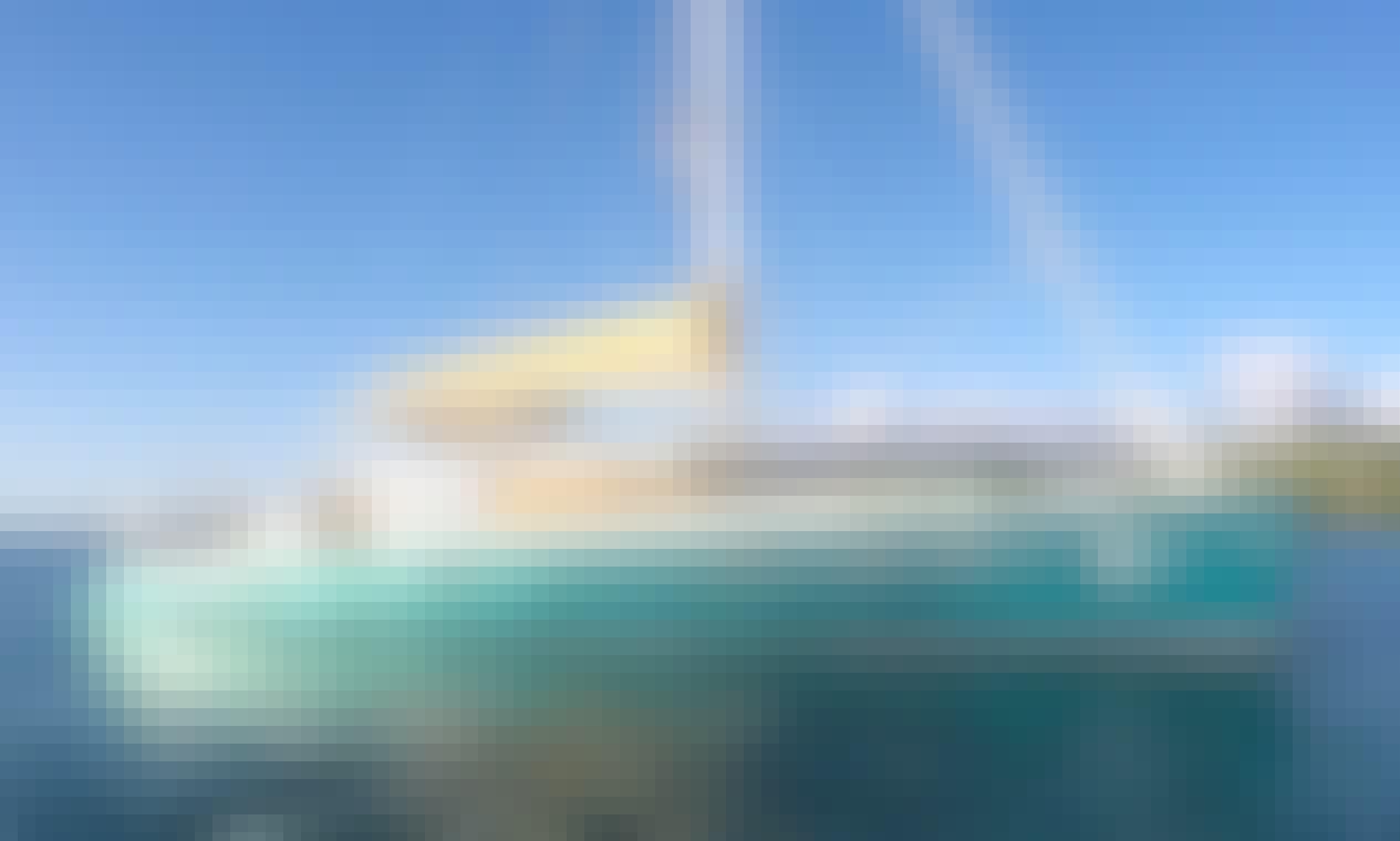 """Sail Grenada on 57"""" Catamaran QUEST"""