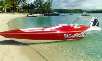 Exclusive Speedboat Tour for 10 People Around Mauritius Islands