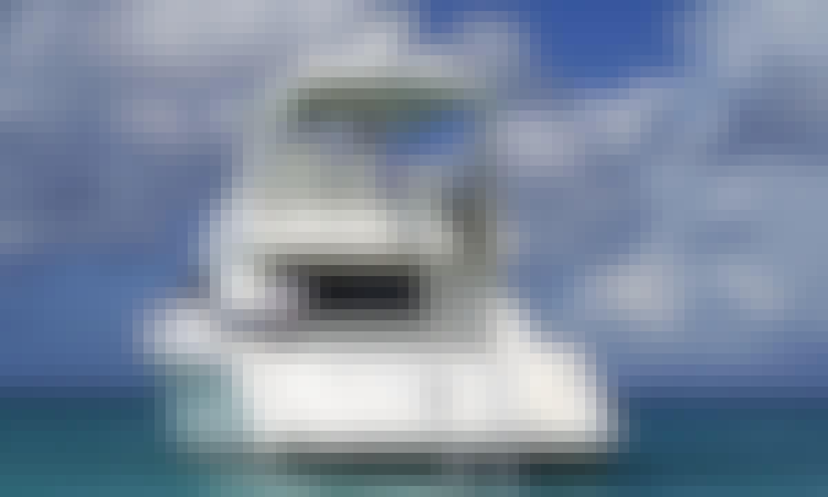 Turks and Caicos Island Getaway aboard 60' Sea Ray Motor Yacht with Captain Robo
