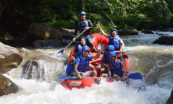 Incredible And Fun Rafting Experience In Ubud, Indonesia