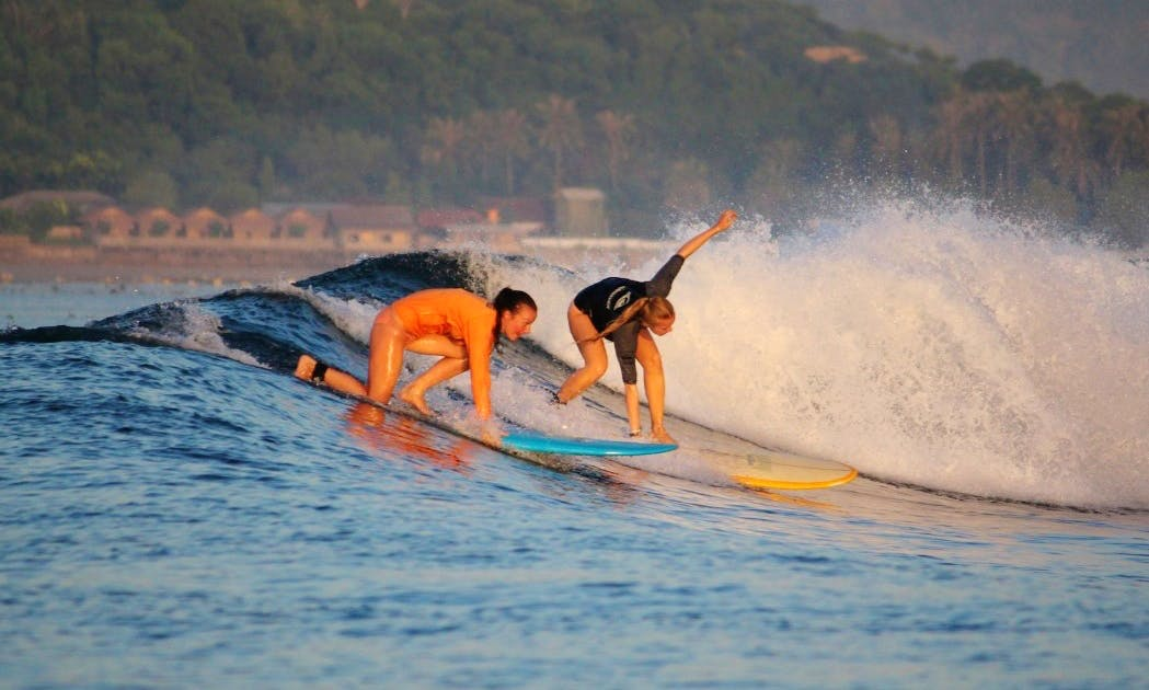 Surf Lessons for 2-3 Hours in South Lombok, Indonesia